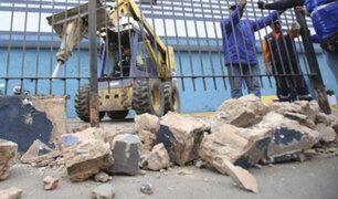 El Agustino: realizan operativo para recuperar espacios públicos