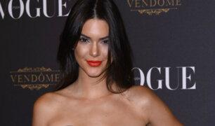 Kendall Jenner sorprende con sesión de fotos para conocida revista