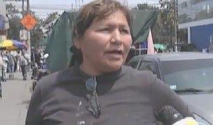 Cercado de Lima: mujer es agredida tras denunciar a ambulantes