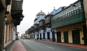 Centro de Lima: rehabilitan calles y avenidas por cumbre APEC