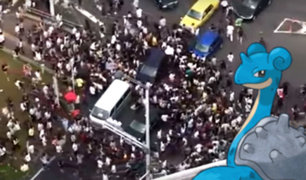 YouTube: Hordas de japoneses fuera de control invaden calles de Tokio por Pokémon GO [VIDEO]