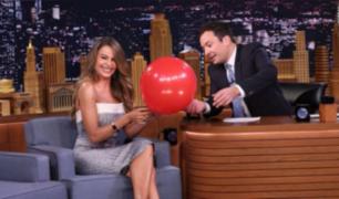 Sofía Vergara protagonizó divertido momento con Jimmy Fallon