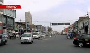 Informe 24: falta de señalización genera caos en Lima