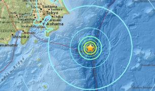 Terremoto de 6.5 grados sacude sureste de Japón