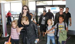Revelan inquietantes detalles de la vida de Angelina Jolie, Brad Pitt y sus hijos