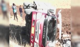Cusco: cinco muertos deja despiste de camión