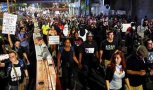 EEUU: toque de queda en Charlotte tras protestas