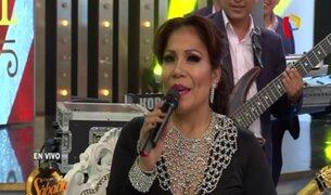 Porque Hoy es Sábado: Marisol deleitó al público con sus mejores éxitos