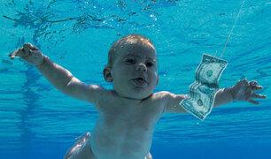 Mira cómo luce ahora el bebé de la famosa portada del disco de Nirvana
