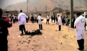 Jicamarca: continúa investigación sobre el asesinato de madre e hija