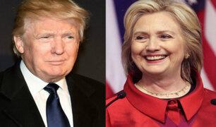 EEUU: hoy Clinton y Trump tienen primer debate