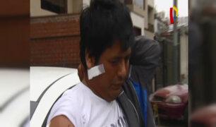San Borja: taxista es acuchillado por pasajero