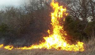 Oxapampa: queman viva a supuesta hechicera
