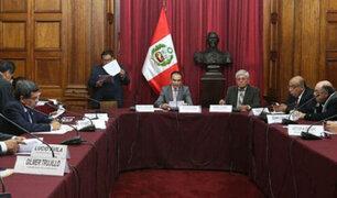 Comisión de Fiscalización a favor de dar facultades al Gobierno