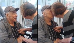 En Canadá dos ancianos vuelven a estar juntos luego de ocho meses