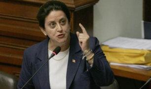 """Lourdes Alcorta a Frente Amplio: """"O están con el terrorismo o con la ciudadanía"""""""