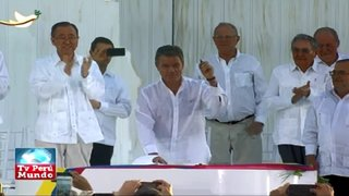 Colombia y las FARC firmaron la paz tras 52 años de conflicto