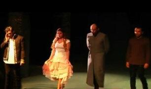 Montan 'Hamlet' en el teatro Británico de Miraflores