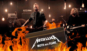 "Metallica lanza su nuevo single ""Moth Into Flame"""