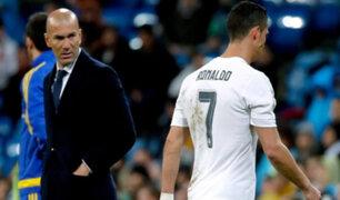 Real Madrid: Cristiano Ronaldo y su enfado al ser sustituido
