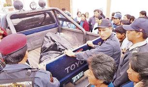 Cajamarca: sujeto asesinó a conviviente porque no le preparó la sopa que le gustaba