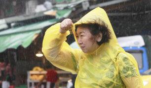 """El tifón """"Megi"""" arrasa con la isla de Taiwán"""