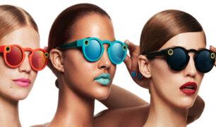 """Snapchat: presentó sus lentes de sol con cámara y se llaman """"Spectacles"""""""