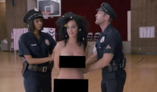 Twitter: Katy Perry se desnuda en apoyo a Hillary Clinton
