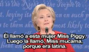 Alicia Machado agradece a Hillary Clinton por defenderla