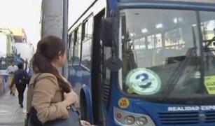 Empresa de bus permitirá interconexión entre sus líneas pagando dos soles