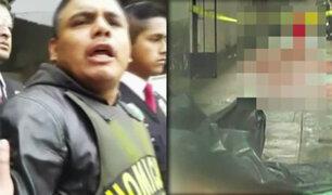 La Victoria: se entregó sujeto que asesinó a puñaladas a una mujer