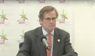 Designan a Carlos Neuhaus como nuevo director ejecutivo de los Juegos Panamericanos