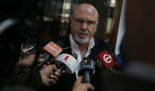 Carlos Bruce pide prisión para exasesor Carlos Moreno