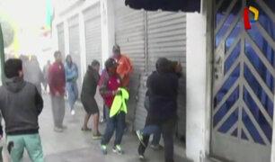 Chimbote: violenta pelea por local en litigio
