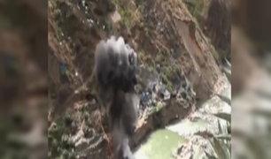 Ejecutan operativo contra minería ilegal en Huánuco