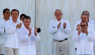 Acuerdo de paz entre Colombia y las FARC podría recibir Premio Nobel de la Paz