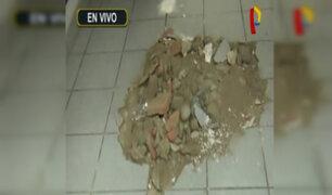 Miraflores: obra afecta inmuebles de periodista Lilian Zapata