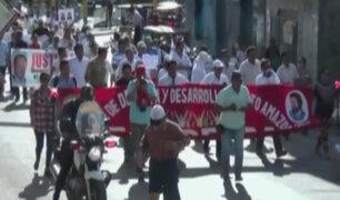Yurimaguas: realizan 'marcha por la paz' en rechazo a ola de crímenes