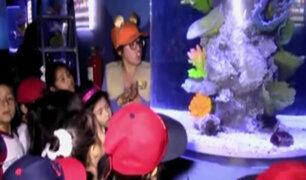 Huachipa: bautizan al pulpo 'Pulpín' en zoológico