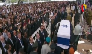 Israel: líderes mundiales rindieron homenaje a Shimon Peres