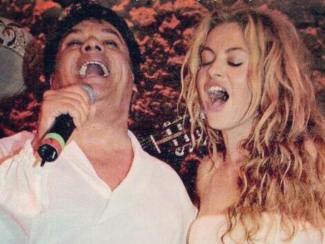 Paulina Rubio y su entrañable foto con Juan Gabriel