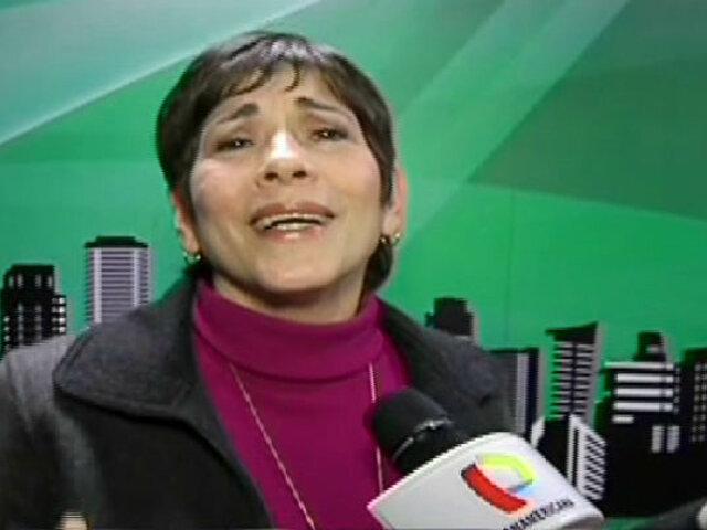 Cecilia Barraza vuelve a cantar tras recuperarse de infarto cerebral