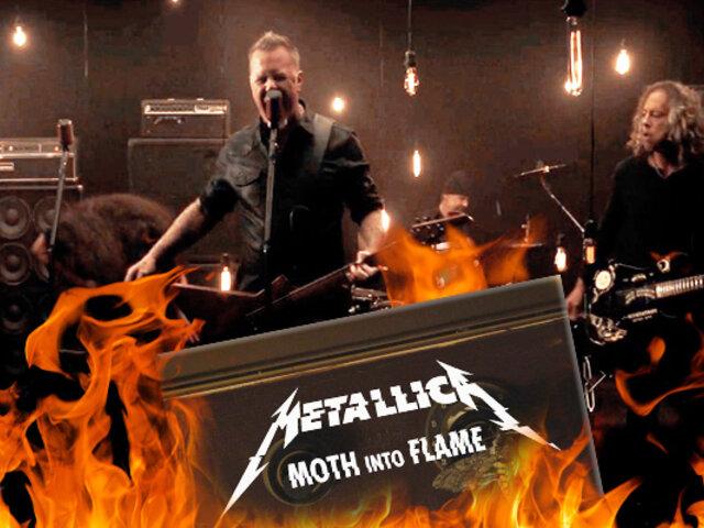 "Metallica lanza su nuevo single ""Moth Into Flame"""