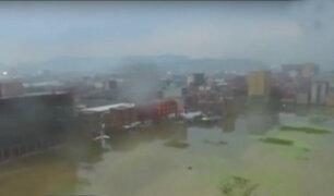 Tifón Megi continúa provocando graves daños en China