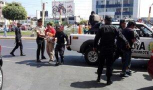 Chimbote: caen 15 integrantes de banda compuesta por abogados