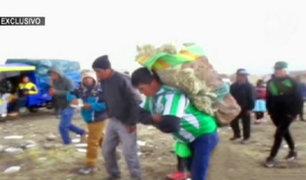Hércules del ande: competencia extrema en Huancavelica