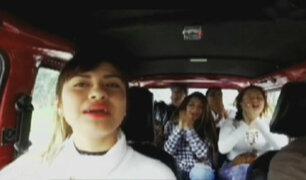 La combi karaokera: con Tommy Portugal, Leslie y Thamara