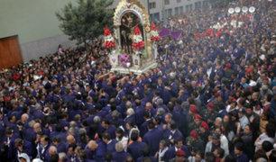 Señor de los Milagros: así fue el tercer recorrido procesional
