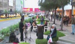 Recuperan áreas verdes en centro financiero de San Isidro