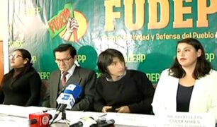 FUDEPP se pronunció tras rechazo de inscripción de JNE